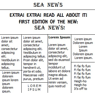 Sea News The HUM