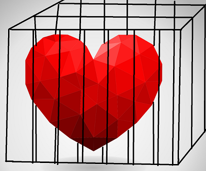 Unconditional Love Jailed Heart