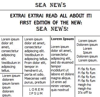 Sea News The HUM